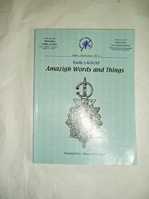 Amazigh Words and Things: Laoust, Emile [1876-1952]