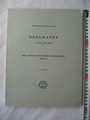 Some Aspects of the Historical Geography of: Janaki, V.A.