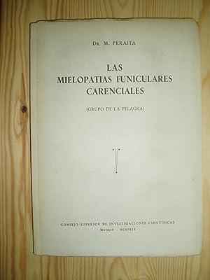 Las mielopatias funiculares carenciales (Grupo de la: Peraita Peraita, Dr.