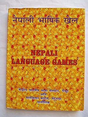 Nepali bhashika khela / Nepali Language Games: Central Institute of Indian Languages / Salesian ...