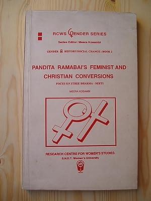 Pandita Ramabai's Feminist and Christian Conversions : Focus on Stree Dharma-neeti: Kosambi, ...