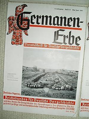 Germanen-Erbe: Monatsschrift für deutsche Vorgeschichte. 6. Jahrgang, Heft 1/2, 3/4, 5/6, 7/8, 9/10...