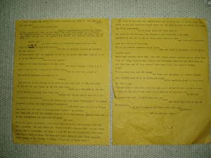 An original two-page signed typed letter dated: Martinelli, Sheri [1918-1996]