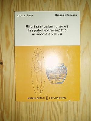 Rituri si ritualuri funerare in spatiul extracarpatic: Luca, Cristian ;