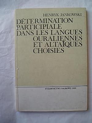 Determination participiale dans les langues ouraliennes et: Jankowski, Henryk