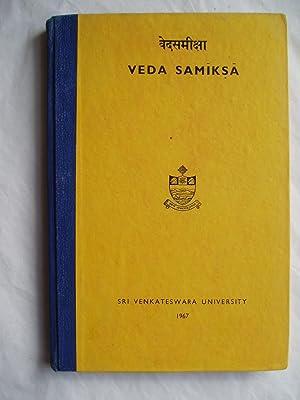 Veda Samiksa: Sarma, E.R. Sreekrishna; editor: