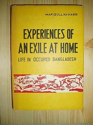 Experiences of an Exile at Home : Kabir, Mafizullah