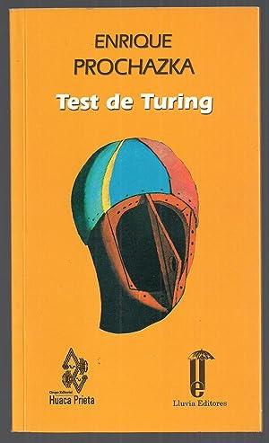 Test De Turing: Enrique Prochazka