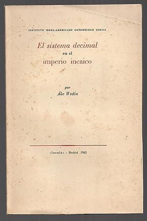 El Sistema Decimal En El Imperio Incaico: Ake Wedin
