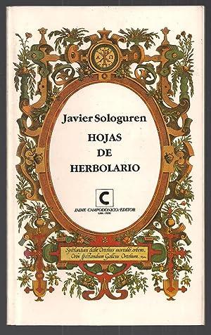 Hojas De Herbolario: Javier Sologuren