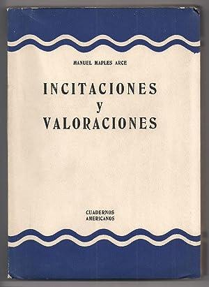 Incitaciones y Valoraciones: Manuel Maples Arce