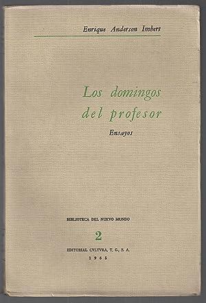 Los Domingos Del Profesor (ensayos): Enrique Anderson Imbert