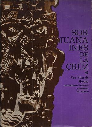 Disco Lp. Sor Juana Inés De La Cruz. Voz Viva De México: Sor Juana Inés de La Cruz