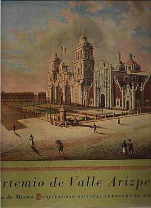 Disco LP. Artemio De Valle Arizpe. Voz Viva De México: Artemio De Valle Arizpe