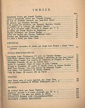 Sur. Revista Bimestral. Nº 291. Nov Dic 1964: Victoria Ocampo (Directora)