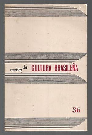 Revista De Cultura Brasileña Nº 36. Diciembre: Manuel Augusto García