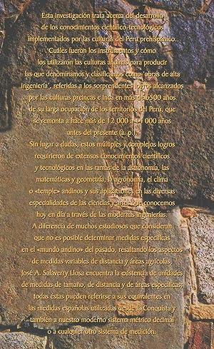 Instrumentos y Sistemas Andinos: José A. Salaverry Llosa