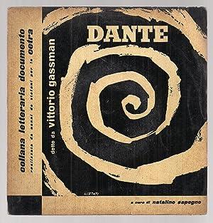 Vinile 33 Giri. Dante. Canto V Dell'inferno.: Dante Aligheri