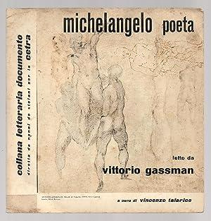 Vinile 33 Giri. Michelangelo Poeta. Lette De: Michelangelo