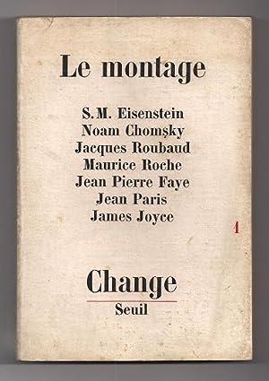 Change Nº 1. Le Montage: Collectif