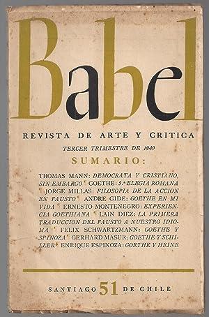 Babel. Revista De Arte y Crítica. Nº 51