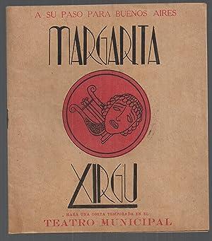 Margarita Xirgu. A Su Paso Para Buenos Aires hará Una Corta Temporada En El Teatro Municipal...