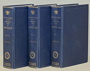 RECOLLECTIONS OF THE PRIVATE LIFE OF NAPOLEON,