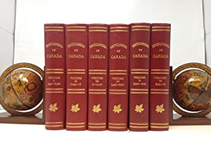ENCYCLOPEDIA OF CANADA (SIX VOLUMES, Complete): Wallace, W. Stewart