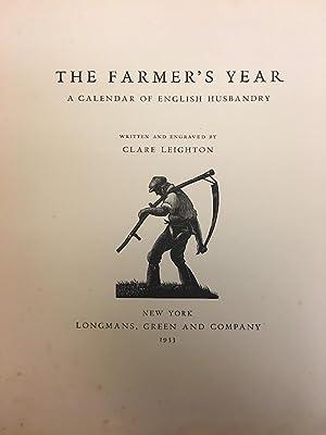 THE FARMER'S YEAR: A CALENDAR OF ENGLISH HUSBANDRY: Leighton, Clare