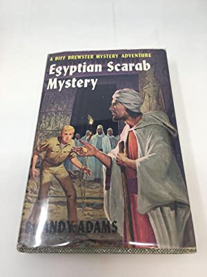 EGYPTIAN SCARAB MYSTERY (A BIFF BREWSTER MYSTERY ADVENTURE): Adams, Andy
