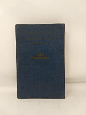 THE TR REGISTER, (Toilet Requisites)1926 EDITION: A REFERENCE BOOK FOR BUYERS OF PERFUMERIES, ...