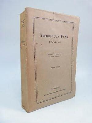 SÆMUNDAR-EDDA: EDDUKVÆDI (POETIC EDDA): Jonsson, Finnur