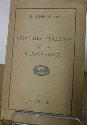 Les Peintres Italiens De La Renaissance Vol: Berenson, B