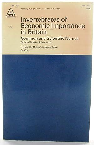 Invertebrates Of Economic Importance in Britain Common: Seymour, Paul R