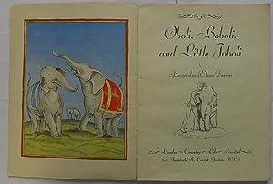 Oboli, Boboli, and Little Joboli: Darwin, Bernard and Elinor