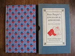 Peter Pauper's Epigrams & Aphorisms