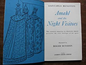 Gian-Carlo Menotti's Amahl and the Night Visitors