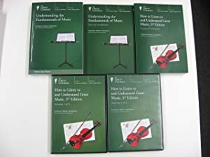 How to Listen to and Understand Great Music, 3rd Edition: Course Guidebook and Volumes 1 & 2 CDs ...