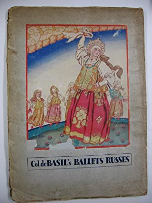 Col. W. de Basil's Ballets Russes (de Monte-Carlo) : Royal Opera House, Covent Garden 1936 June-S...