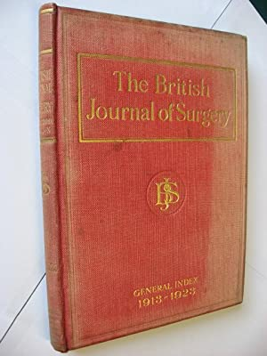 The British Journal of Surgery : General Index to Volumes I - X.: Clarke, Archibald L.
