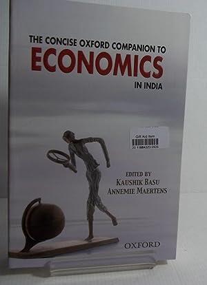 The Concise Oxford Companion to Economics in: Kaushik Basu, Annemie