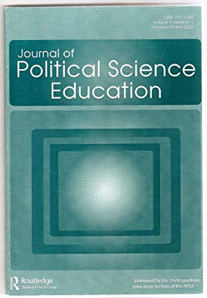 Journal of Political Science Education (Vol. 4, Number 1)