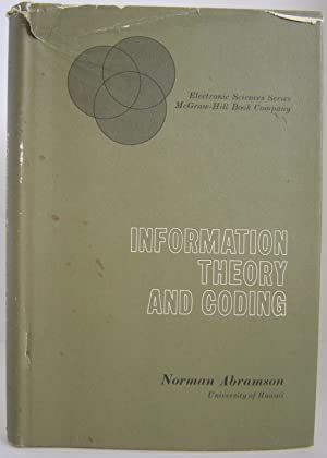 Information Theory and Coding: Abramson, Norman