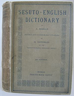 Sesuto-English Dictionary: Mabille, A; Dieterlin,