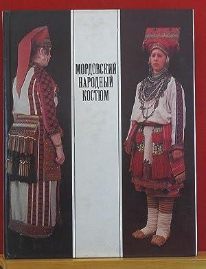 Mopdobckey Hapodhbiy Koctyum (Russian Folk/Antique Costume/Wear by: Prokina