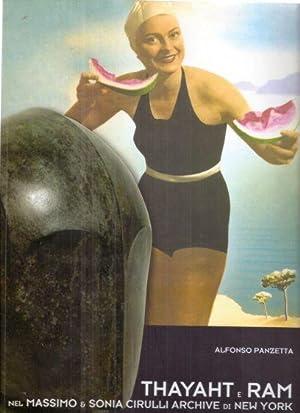 Opere di Thayaht e Ram nel Massimo: Alfonso Panzetta
