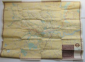 Underground Railway Map No.1. 1937.