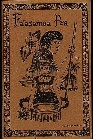 Faasamoa Pea, Vol IV, No 1 December