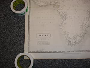 Map of Africa (1849); The National Atlas of Historical, Commercial and Political Geography: ...