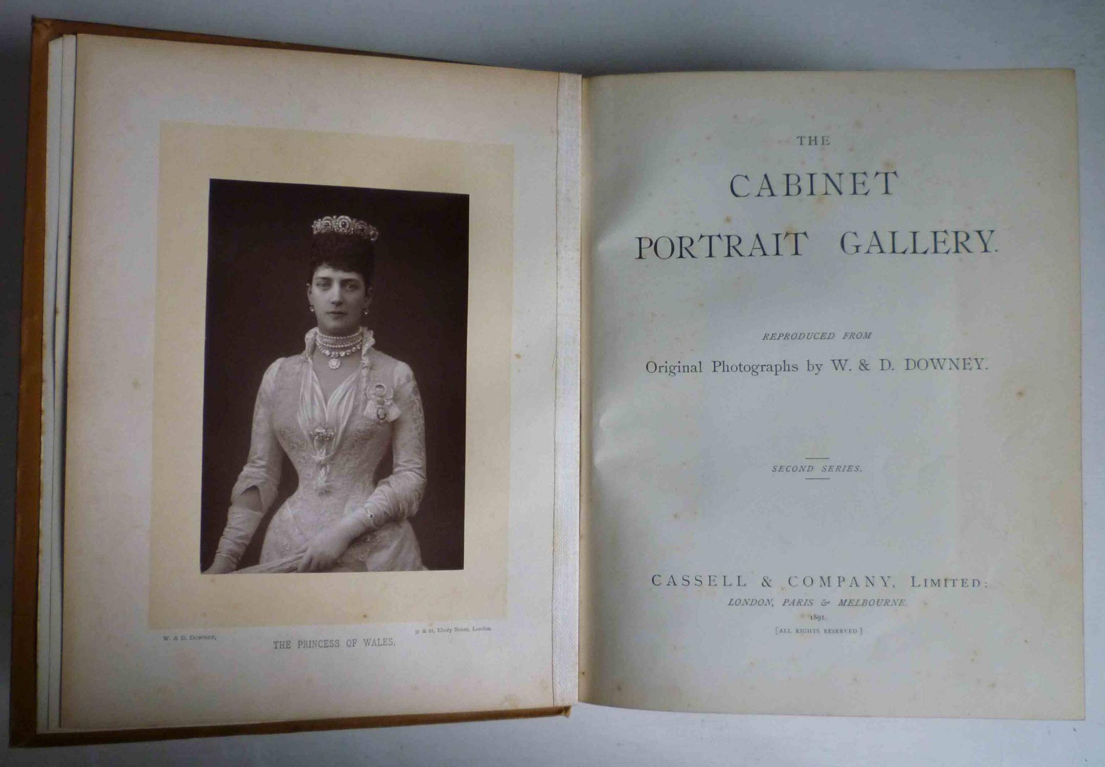 THE CABINET PORTRAIT GALLERY - Second Series: Downey, W. & D.